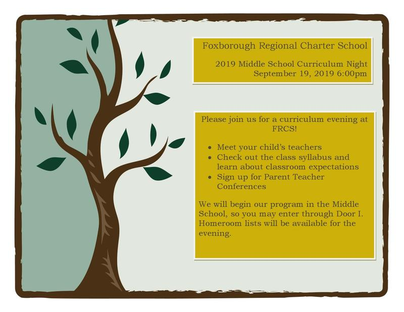 Join us for Middle School Curriculum Night on 9/19! Featured Photo