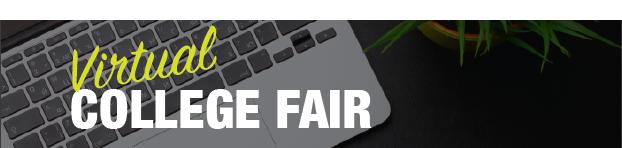 Virtual College Fair Banner