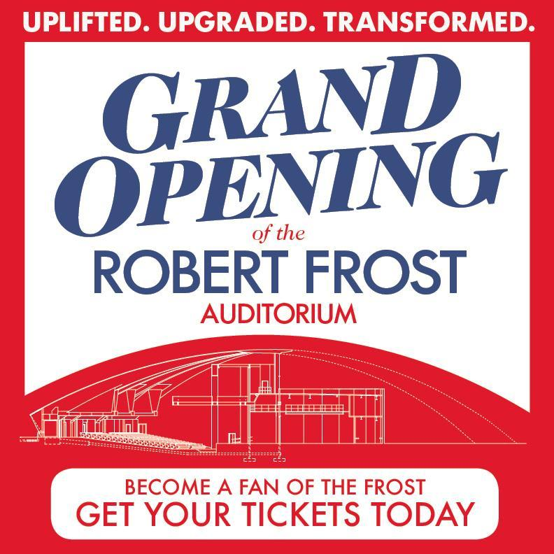 GRAND OPENING of ROBERT FROST AUDITORIUM Featured Photo