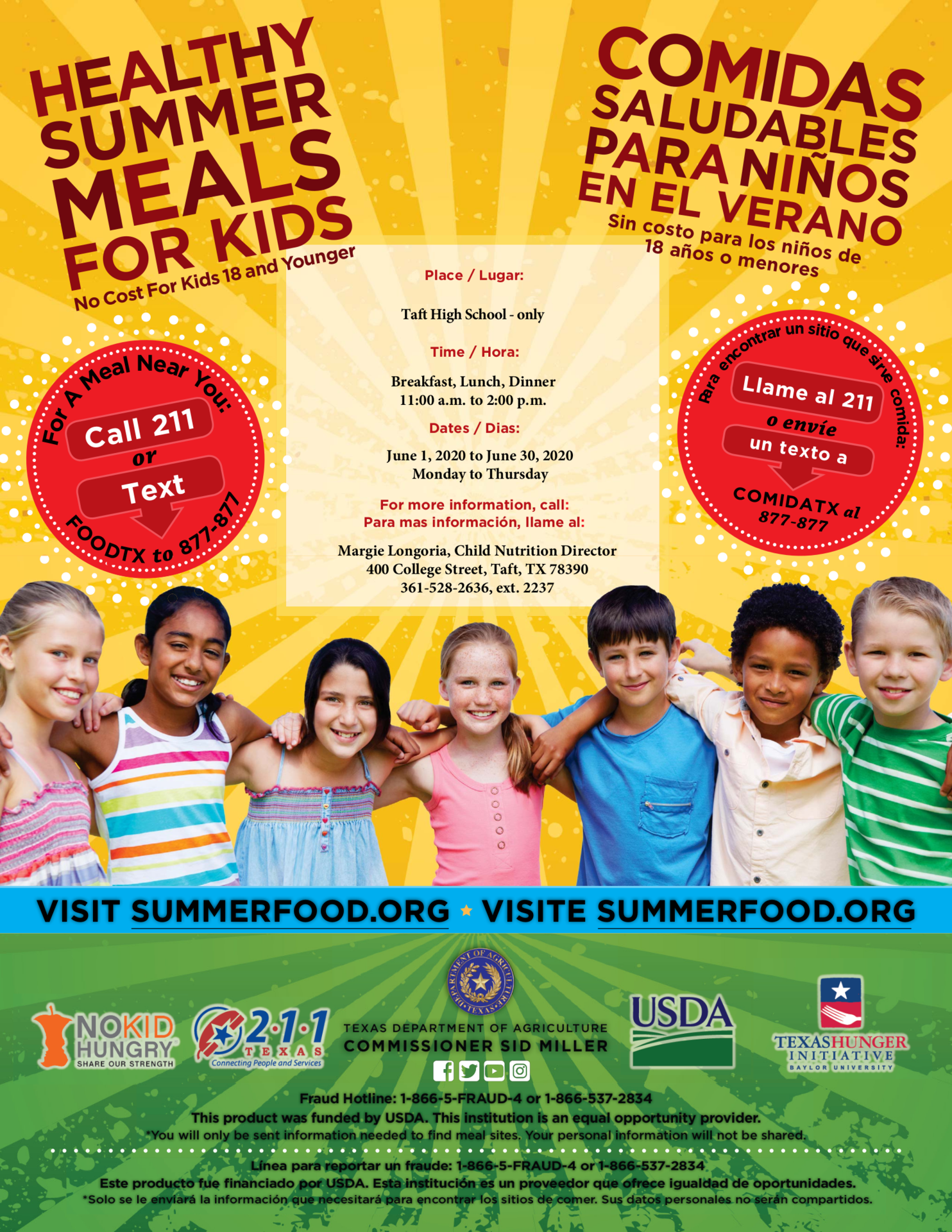 Summer Meals June 2020