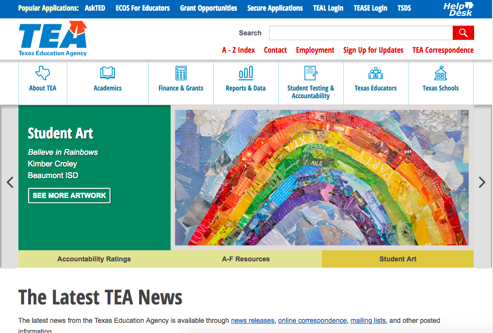 TEA Webiste