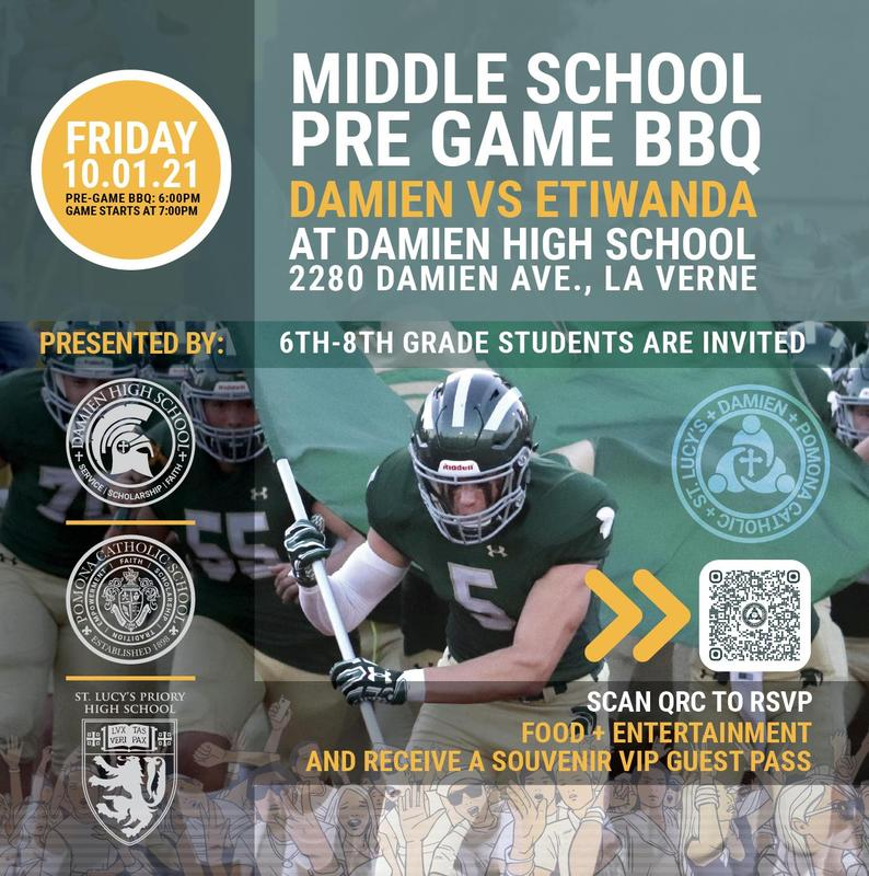 MIDDLE SCHOOL PRE GAME BBQ Featured Photo