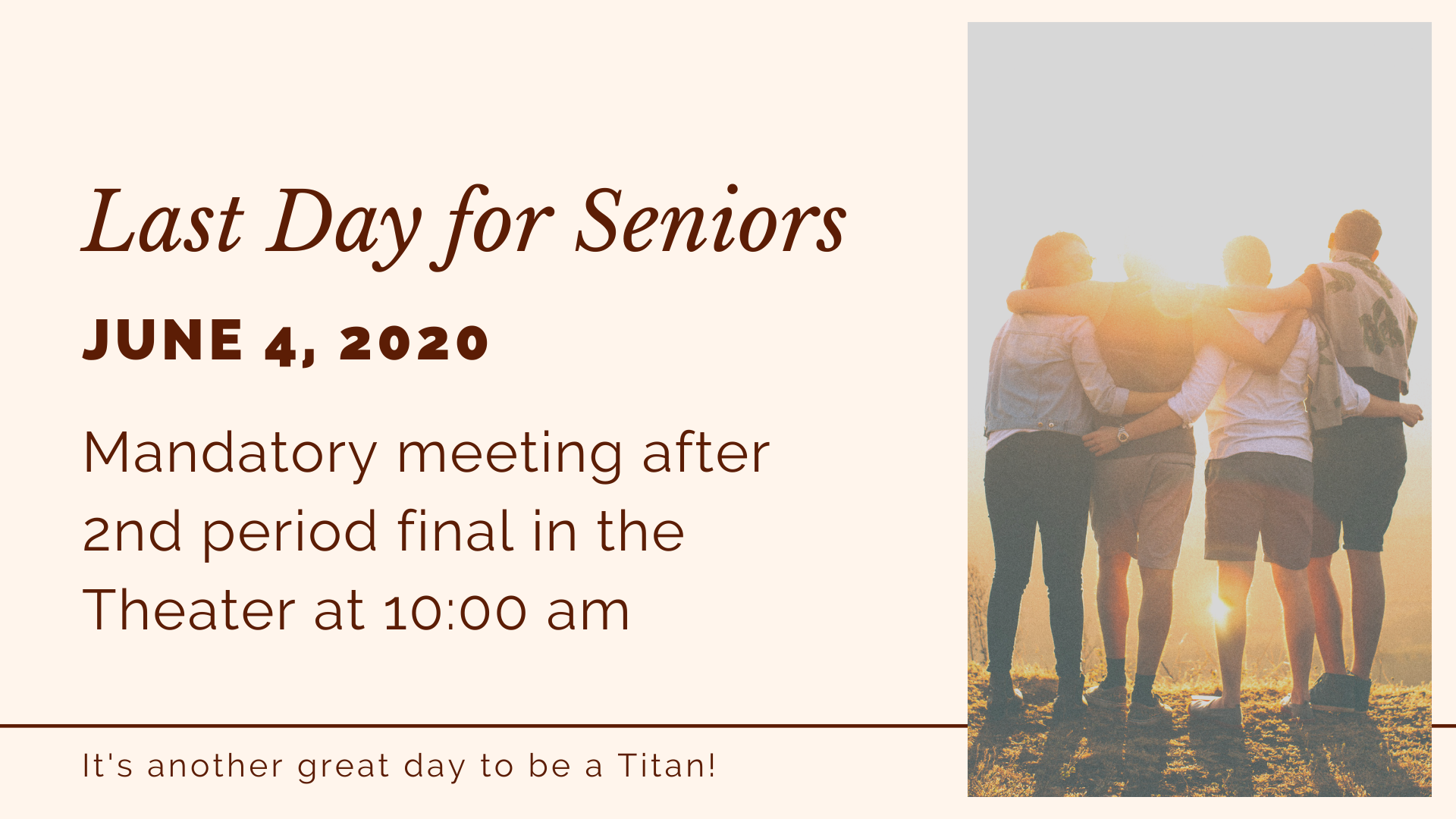 seniors last day