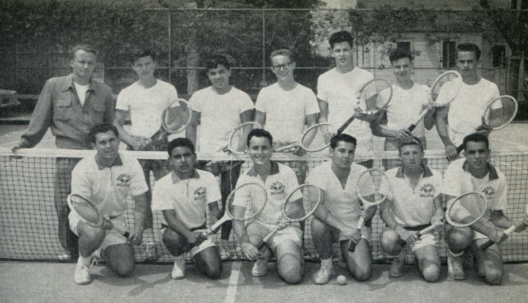 Tennis team 1954