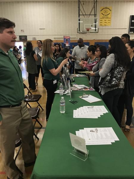 Resource Summit Event held in gym