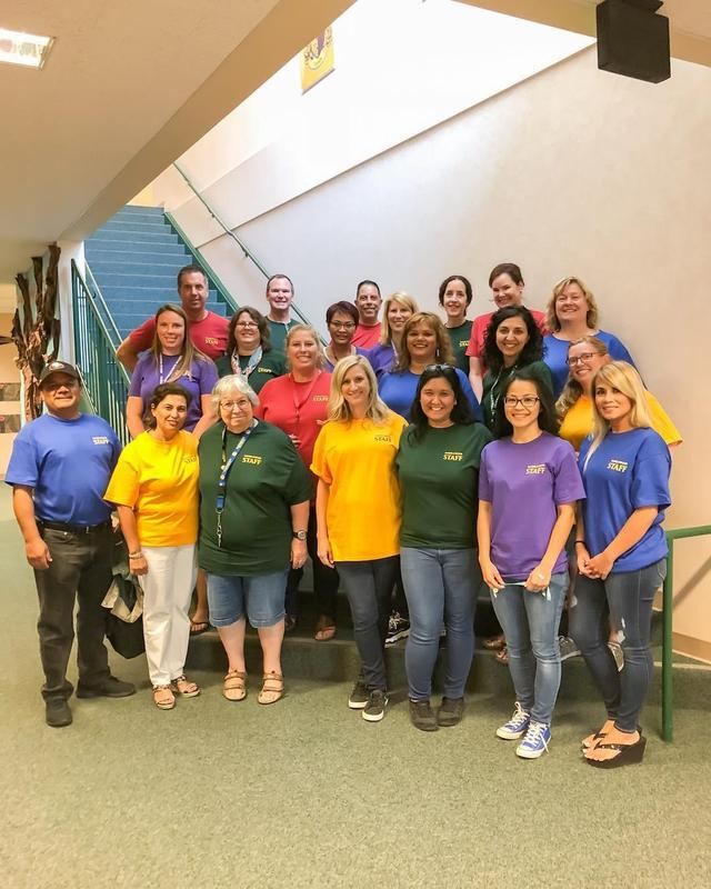 Ramblewood Staff in House Colors