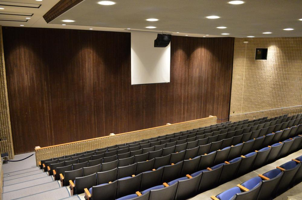 smaller auditorium