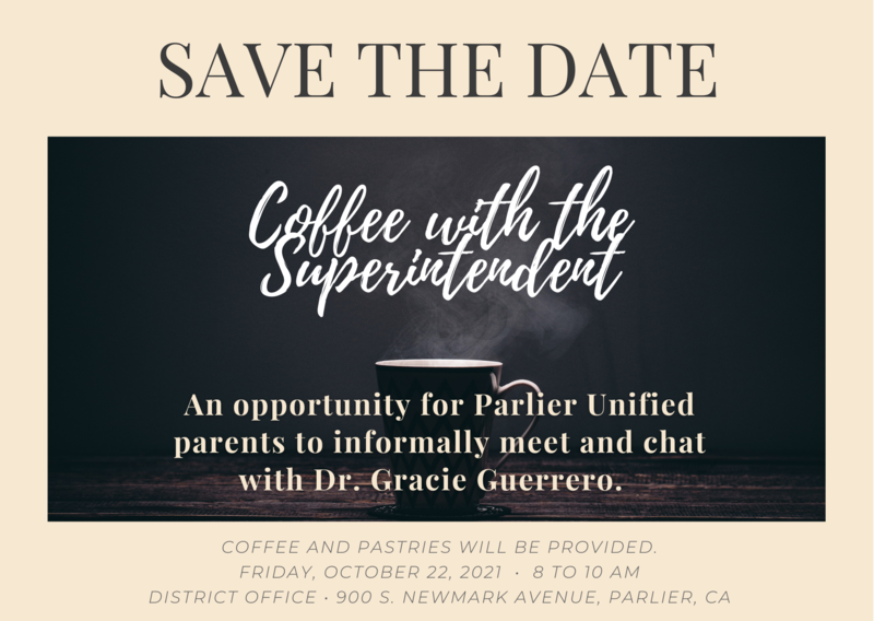 Coffee with the Superintendent ☕️ Featured Photo