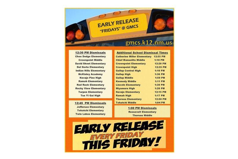 Early Release Times