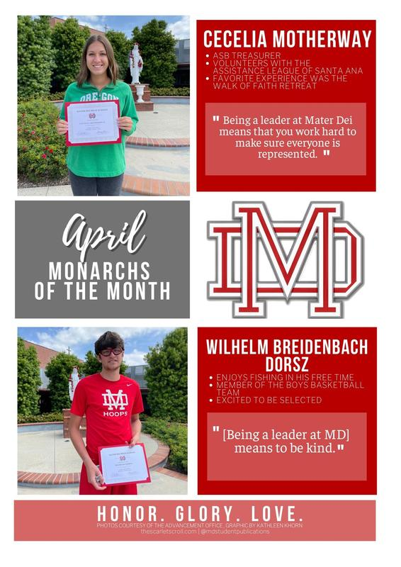 April Monarchs of the Month! Featured Photo
