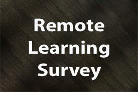 Remote Learning Program Survey Featured Photo
