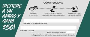 Referral Ticket Spanish