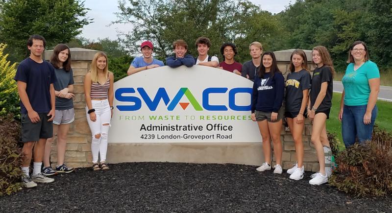 AP Students at SWACO photo