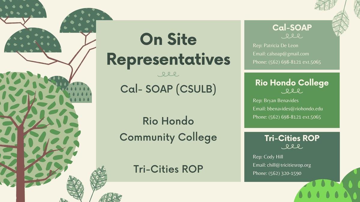 On Site Representatives