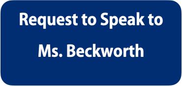 Request to Speak to Ms. Beckworth