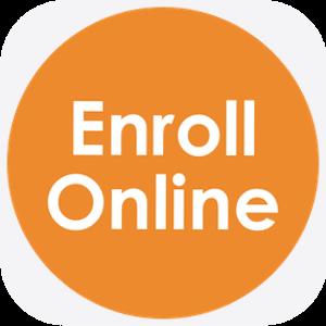 Online Enrollment button