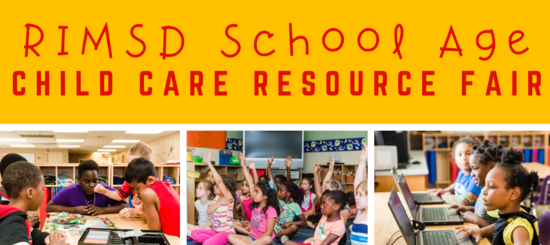 RIMSD School Age Child Care Resource Fair Featured Photo