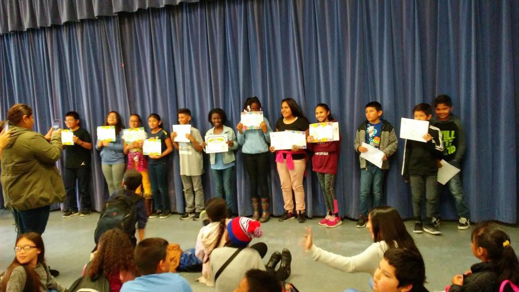 Mr. Jarvis-Martinez 2nd trimester awards