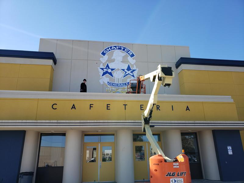 Cafeteria Gets Fresh Paint Thumbnail Image