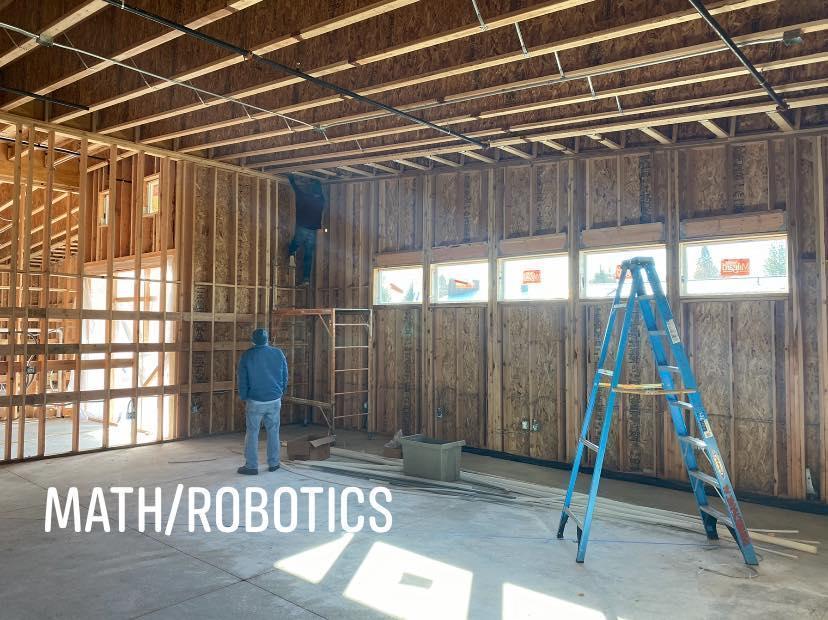 Expansion Math/Robotics Room