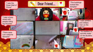 Collage of Chinese New Year Assignments