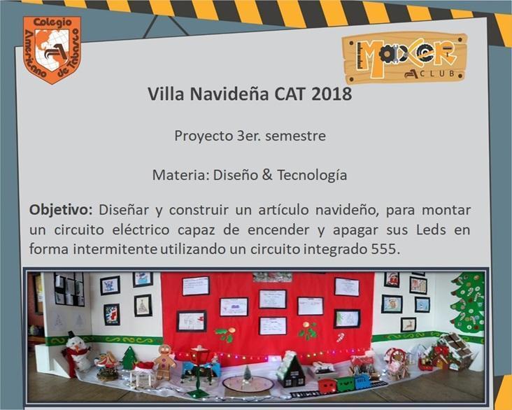 Proyectos Maker 3er. semestre: Villa Navideña con circuito 555 Featured Photo