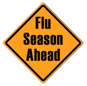 Flu season warning