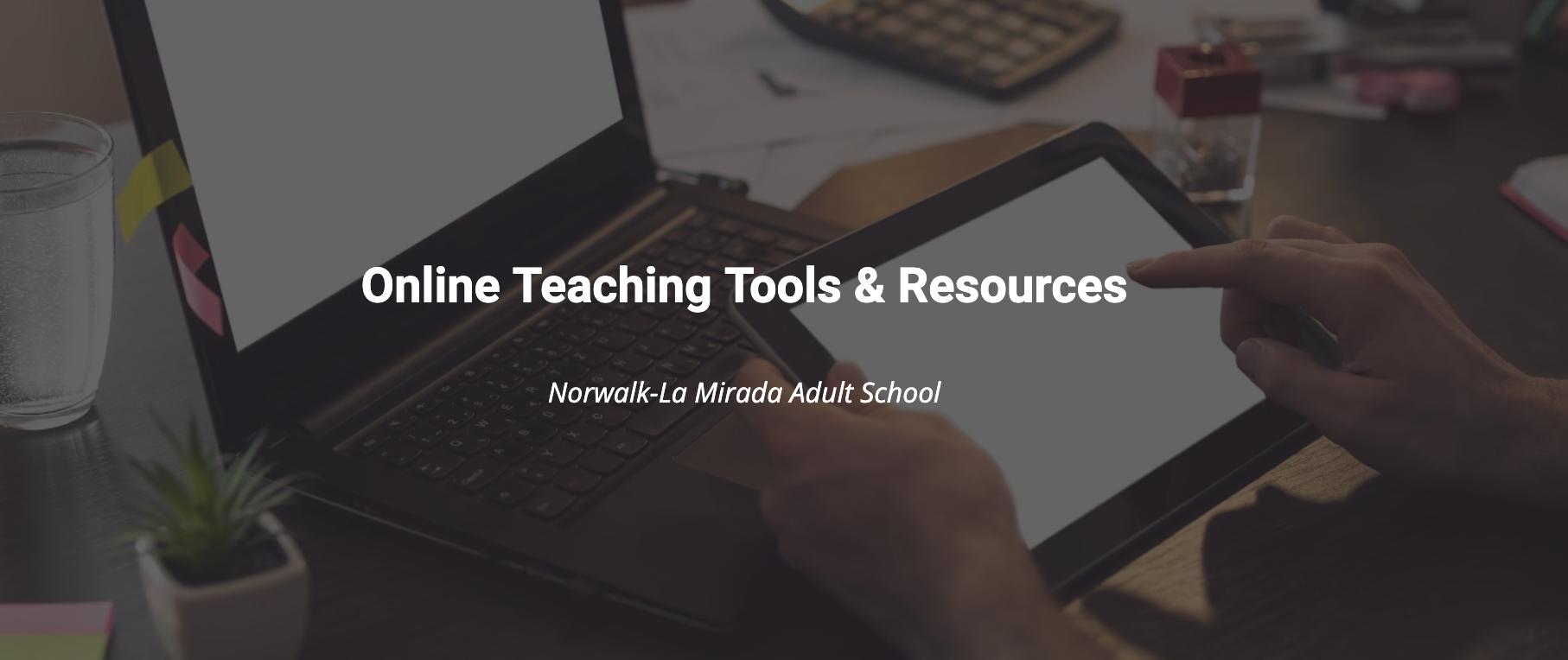 Tutorials for Online Teaching