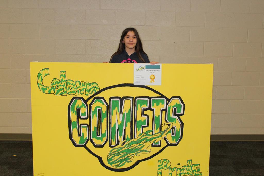 6th Grade Perfect Attendance