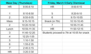 BG Bell Schedules March 4-5.JPG