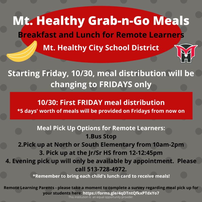 meal delivery 10/30