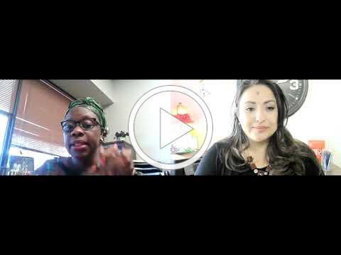 video still of Sandra Andrade and Sandra Bea