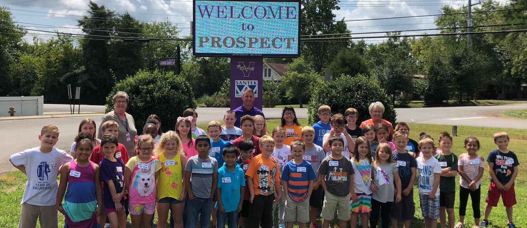 New students at Prospect