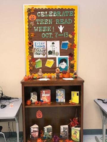 Teen Read Week October 7 - 13, 2018