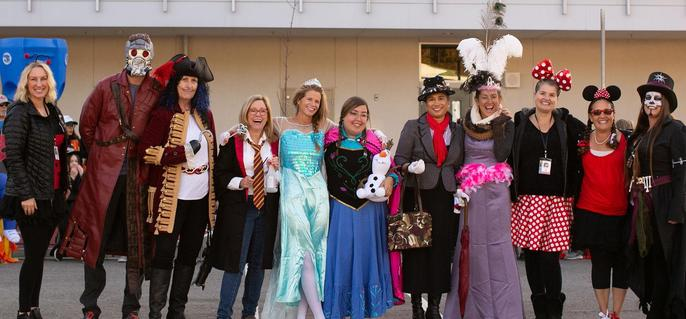 Halloween teachers
