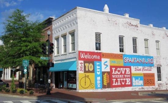 Spartanburg Mural