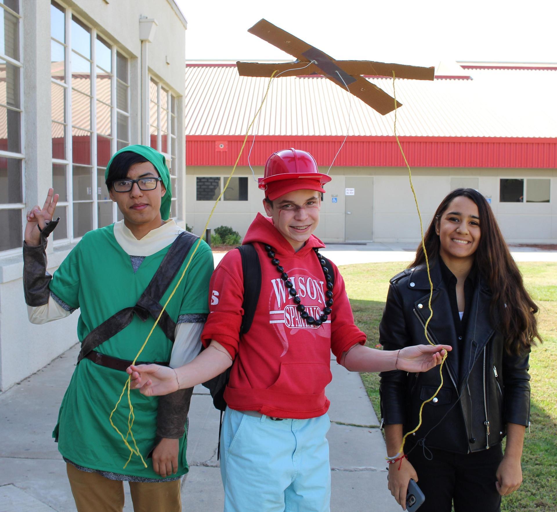 Samuel Gonzalez as Link, Tanner Pace as a Marionette, Savahna Ortega