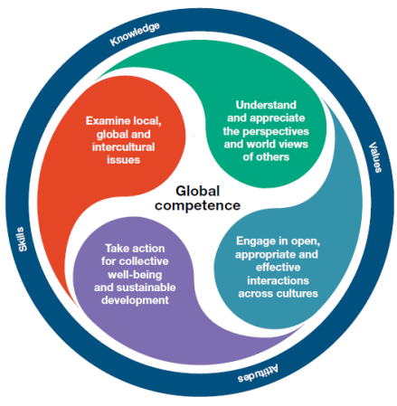 Global Competency chart