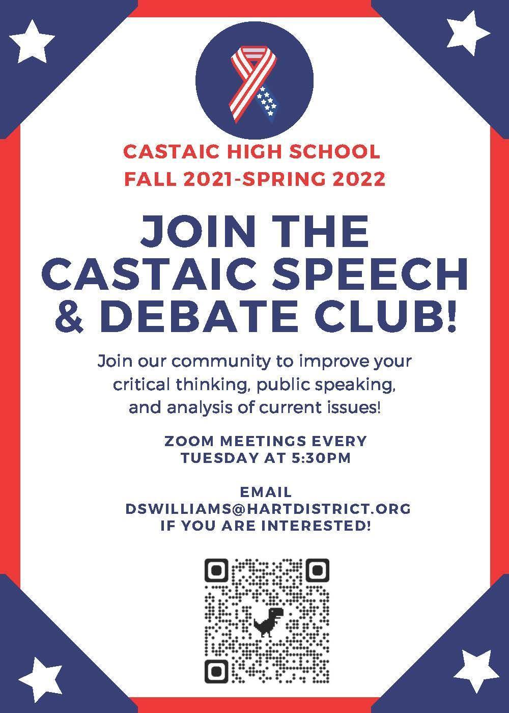 Speech&DebateClubflier