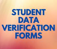 Student Verification Data Forms