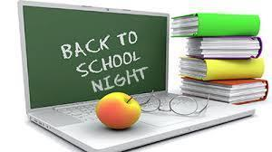 BACK TO SCHOOL NIGHT---THURSDAY, AUGUST 29, 2019 FROM 5 - 7 P.M. Featured Photo