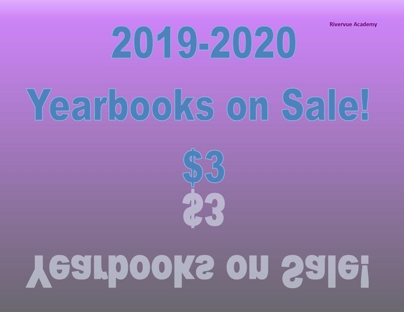 purple background reads 2019-2020 yearbook sale $3 teal letters