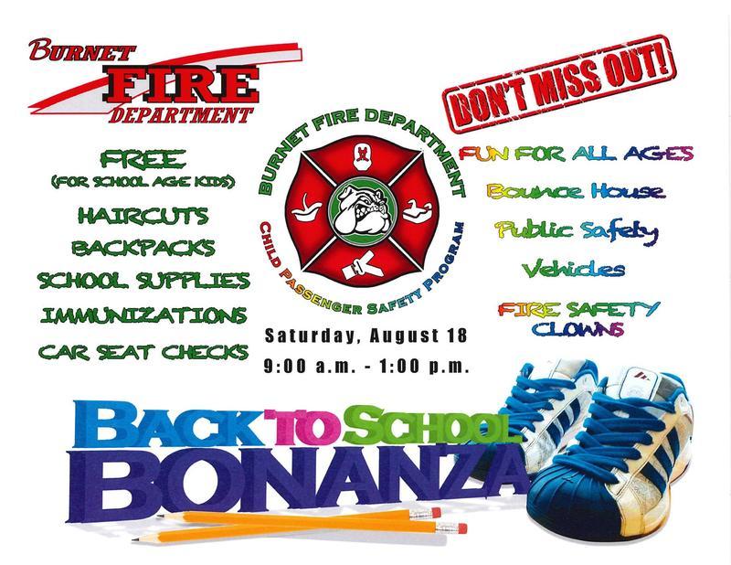 Back To School Bonanza, Saturday, August 18th Thumbnail Image