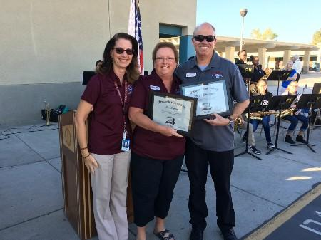 Photo Op with Original Staff Members still Teaching at Fruitvale