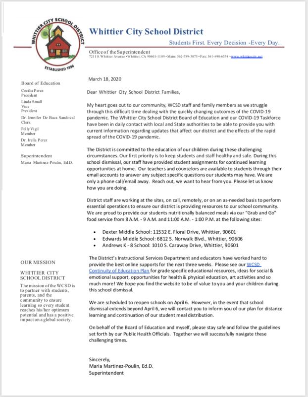 Screenshot to Link of Letter#4 PDF