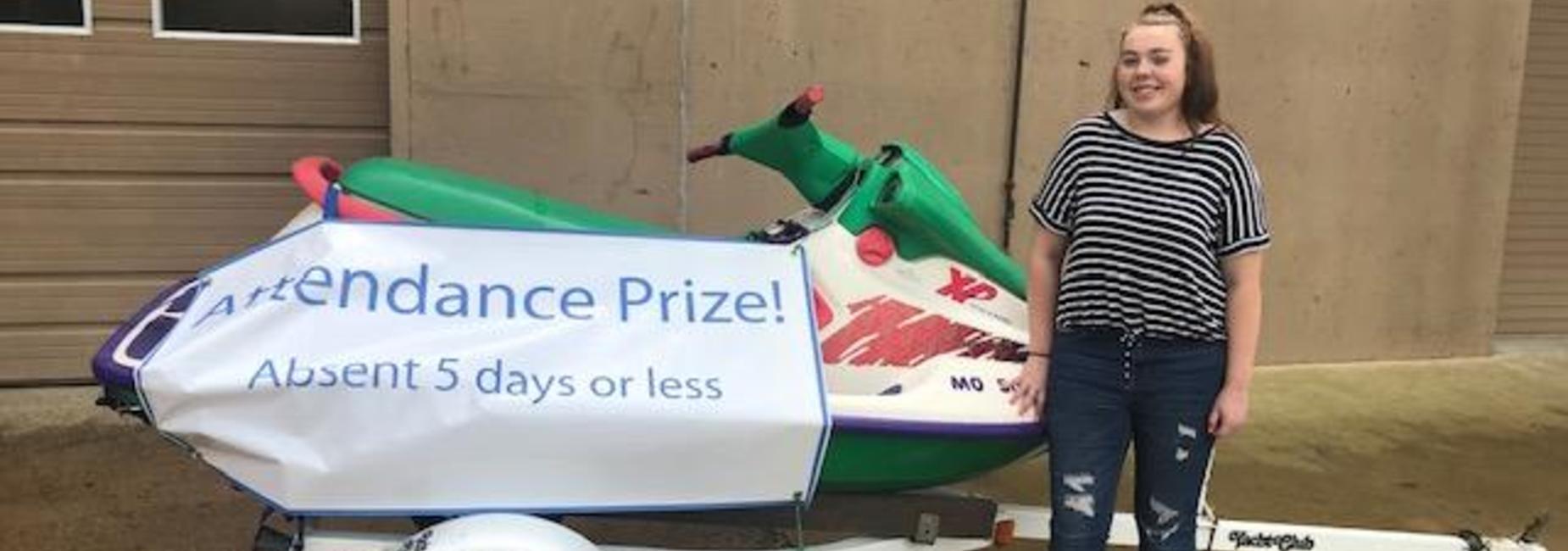 Attendance Prize Winner