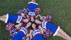 Cheerleader Circle Picture