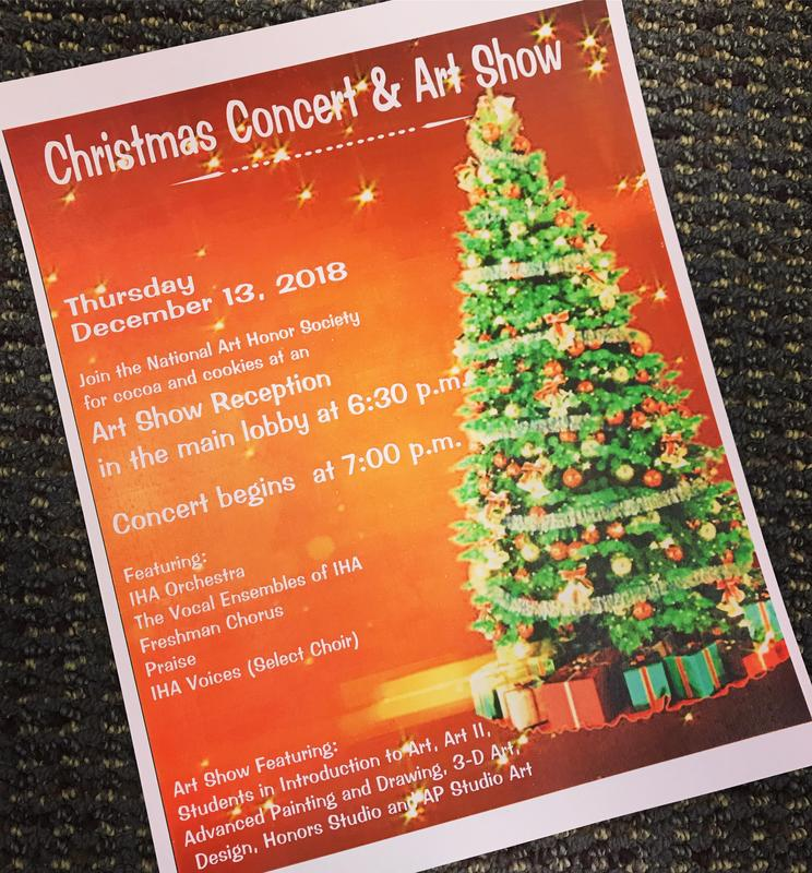 Christmas Concert & Art Show - Dec. 13 Thumbnail Image