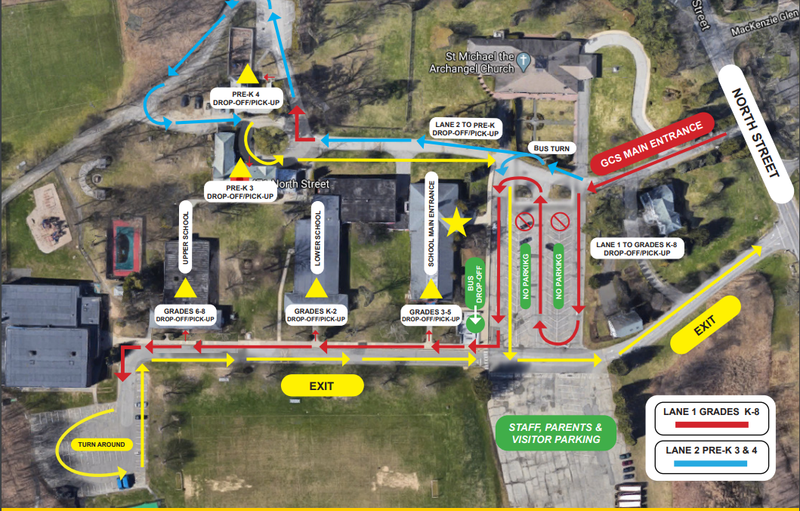 Traffic Flow Map: Arrival and Dismissal Thumbnail Image