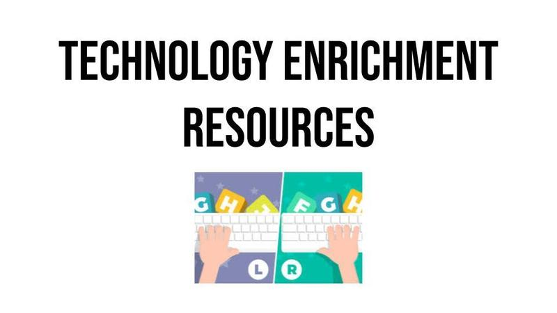 Technology Enrichment Resources Image